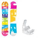 Snowboard komplet Raven Infinity + vázání Luna
