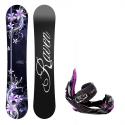 Snowboard komplet Raven Flossy + vázání s350