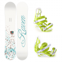 Snowboard komplet Raven Flair + vázání S750