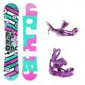 Snowboard komplet Pathron Swirl + vázání SP