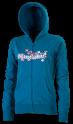 mikina Horsefeathers Nile zip blue