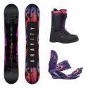 Snowboard komplet Gravity Sublime + vázání G3 + boty Sage 17/18