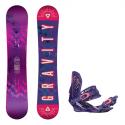Snowboard komplet Gravity Trinity + vázání G3 17/18