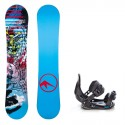 Dětský snowboard komplet Trans Style 17/18 + vázání Salomon