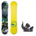 Dětský snowboard komplet Trans Premium 17/18 + vázání Salomon