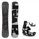 Snowboard komplet Raven Grunge bumper 17/18 + vázání Fastec