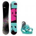 Snowboard komplet Raven Pearl + vázání G1