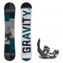 Snowboard komplet Gravity Adventure 18/19 + vázání s220