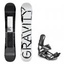 Snowboard komplet Gravity Madball 18/19 + vázání s220