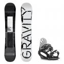 Snowboard komplet Gravity Madball 18/19 + vázání G1