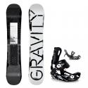 Snowboard komplet Gravity Madball 18/19 + vázání Fastec