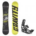 Snowboard komplet Gravity Empatic 18/19 + vázání s220