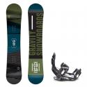Snowboard komplet Gravity Cosa 18/19 + vázání s220
