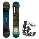 Snowboard komplet Gravity Cosa 18/19 + vázání Fastec