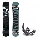 Snowboard komplet Gravity Silent 18/19 + vázání s220