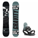 Snowboard komplet Gravity Silent 18/19 + vázání G2