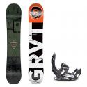Snowboard komplet Gravity Bandit 18/19 + vázání s220