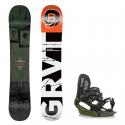 Snowboard komplet Gravity Bandit 18/19 + vázání G3
