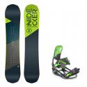Dětský snowboard komplet Nidecker Micron Prosper 18/19 + vázání s220