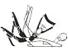 Fastec system (odklopná opěrka)