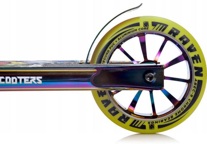 Freestyle koloběžka - kola