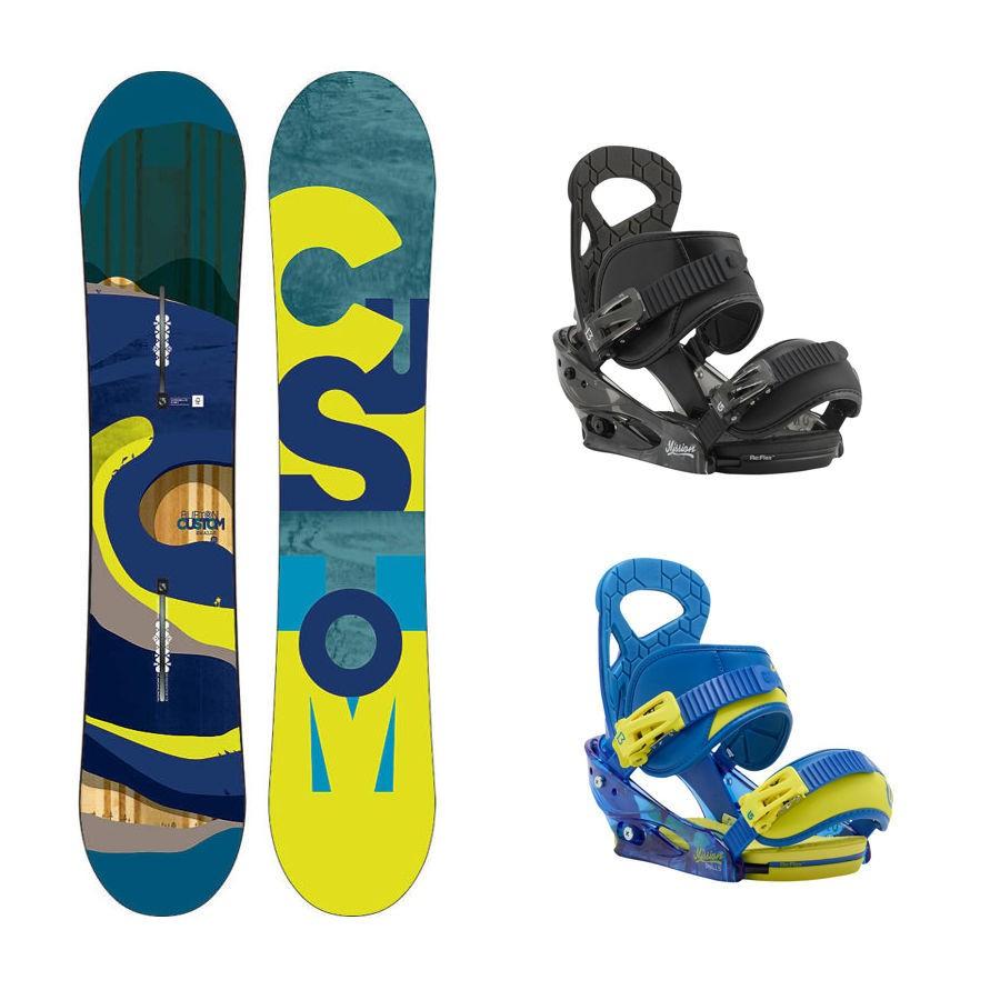 cf256a808f Dětský snowboard komplet Burton Custom 15 16 + vázání Burton ...