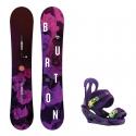 Snowboard komplet Burton Stylus 18/19 + vázání Citizen purps