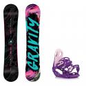 Snowboard komplet Gravity Sublime 18/19 + vázání G2