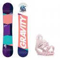 Snowboard komplet Gravity Electra 18/19 + vázání G2