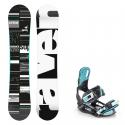 Snowboard komplet Raven Supreme mint + vázání Starlet mint