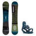 Snowboard komplet Gravity Cosa 18/19 + vázání G2