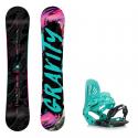 Snowboard komplet Gravity Sublime 18/19 + vázání G3