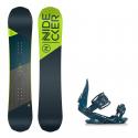 Dětský snowboard komplet Nidecker Micron Prosper 18/19 + vázání G2