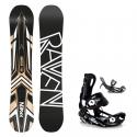 Snowboard set Raven Decade 18/19 + vázání fastec