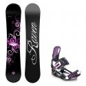 Snowboard komplet Raven Natural + vázání Starlet