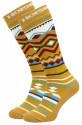 Snowboard ponožky Horsefeathers Native wood