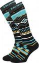 Snowboard ponožky Horsefeathers Native black