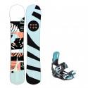 Snowboard komplet Burton Hideaway 19/20 + vázání Starlet