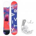 Snowboard komplet Gravity Sirene 19/20 + vázání Fastec