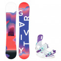 Snowboard komplet Gravity Sirene 19/20 + vázání Starlet