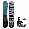 Snowboard komplet Gravity Adventure 19/20 + vázání Fastec
