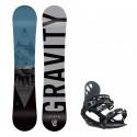 Snowboard komplet Gravity Adventure 19/20 + vázání G1