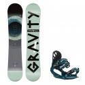Snowboard komplet Gravity Madball 19/20 + vázání G1 dark slate