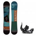 Snowboard komplet Gravity Empatic 19/20 + vázání Croxer