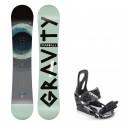 Snowboard komplet Gravity Madball 19/20 + vázání S200