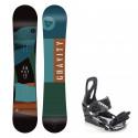 Snowboard komplet Gravity Empatic 19/20 + vázání S200