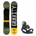 Snowboard komplet Gravity Cosa 19/20 + vázání G1