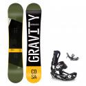 Snowboard komplet Gravity Cosa 19/20 + Fastec