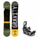 Snowboard komplet Gravity Cosa 19/20 + vázání S200
