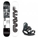 Snowboard komplet Gravity Silent 19/20 + vázání G1